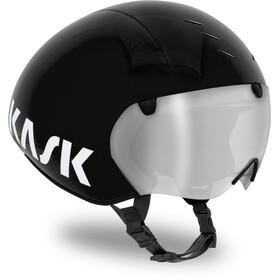 Kask Bambino Pro Pyöräilykypärä sis. visiirin  , musta